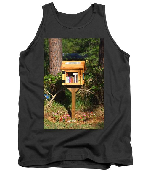 Tank Top featuring the photograph World's Smallest Library by Gordon Elwell