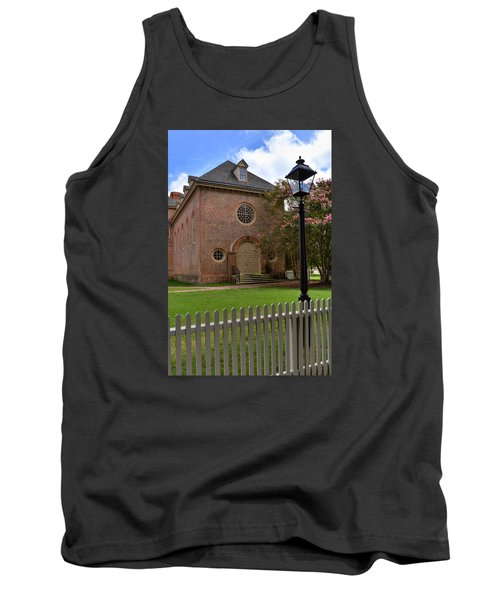 Wren Chapel At William And Mary Tank Top by Jerry Gammon