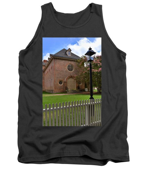 Wren Chapel At William And Mary Tank Top