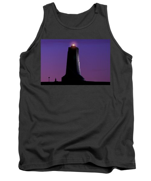 Tank Top featuring the photograph Wright Brothers Memorial by Greg Reed