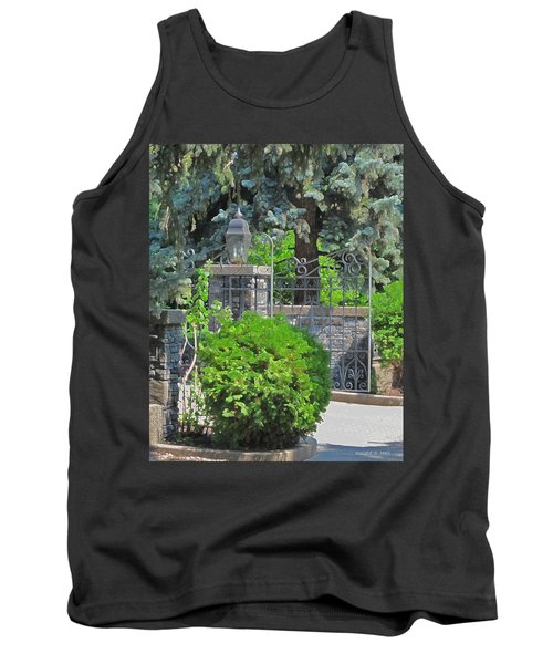 Wrought Iron Gate Tank Top