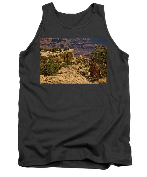 Tank Top featuring the photograph Yaki Point 3 The Grand Canyon by Bob and Nadine Johnston