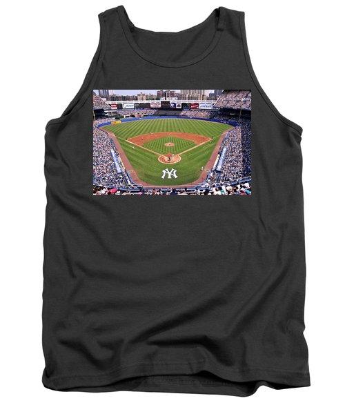 Yankee Stadium Tank Top by Allen Beatty