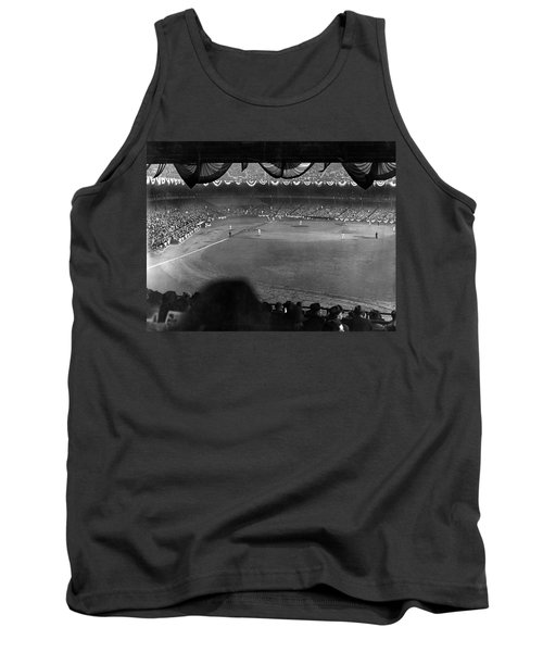 Yankees Defeat Giants Tank Top by Underwood Archives