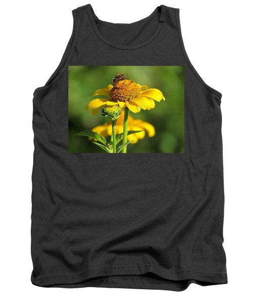 Yellow Daisy Tank Top