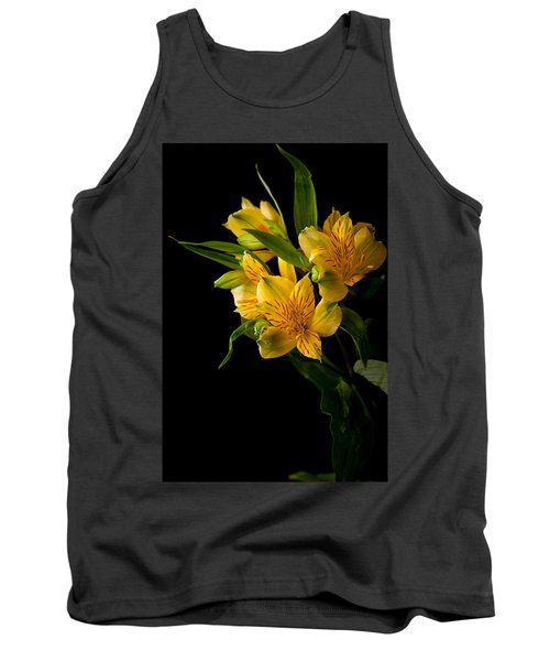 Tank Top featuring the photograph Yellow Flowers by Sennie Pierson