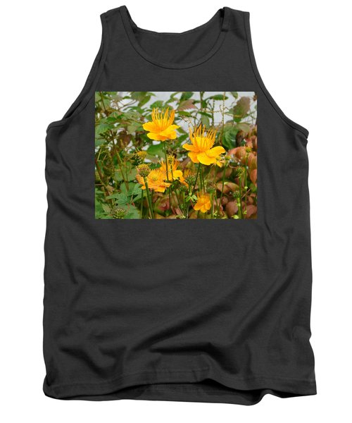 Tank Top featuring the photograph Yellow Is Golden by Lew Davis