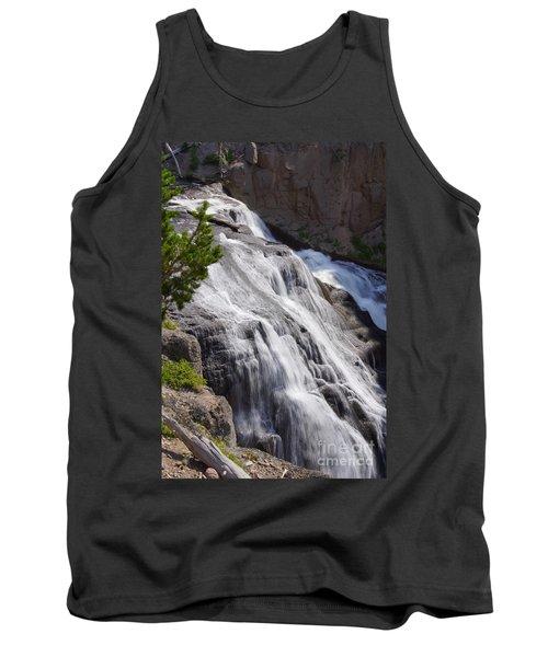 Yellowstone Gibbon Falls Tank Top by Jennifer White
