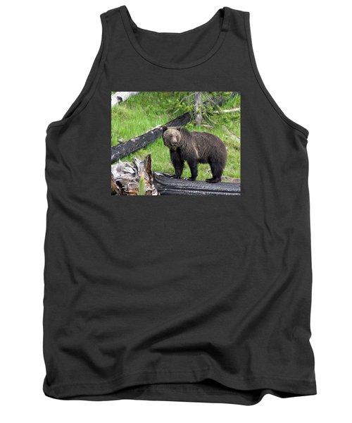 Yellowstone Grizzlies 2 Tank Top