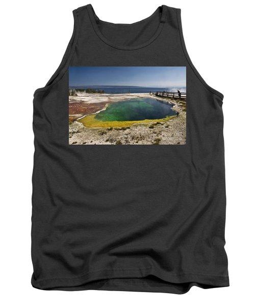 Yellowstone Lake Tank Top