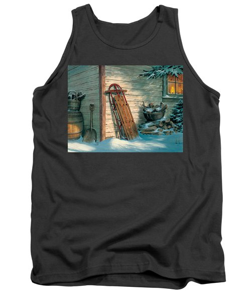 Yesterday's Champioin Tank Top by Michael Humphries