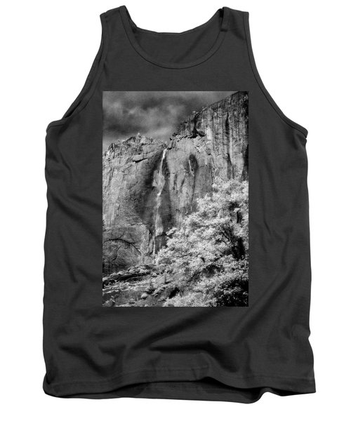 Tank Top featuring the photograph Yosemite Falls by Mark Greenberg