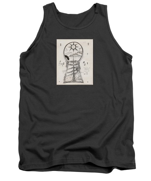 You Hold The Key Tank Top