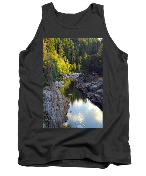 Yuba River Twilight Tank Top