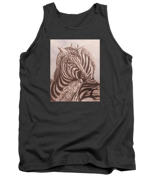 Zebra Family Tank Top