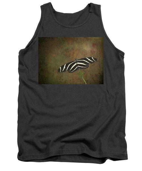 Zebra Longwing  Butterfly-1 Tank Top
