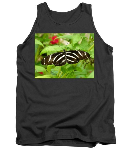 Zebra Longwing Tank Top