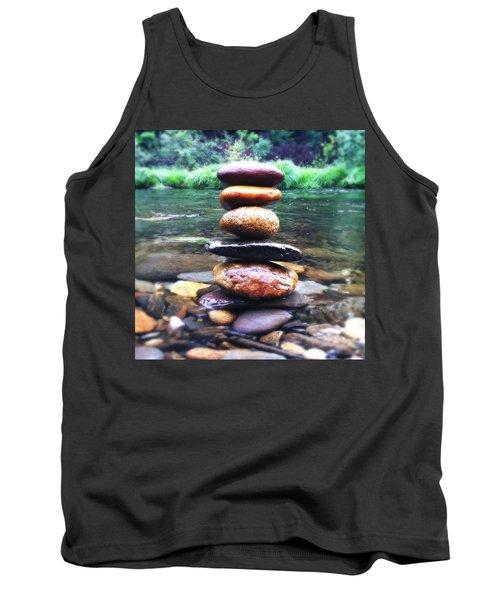 Zen Stones II Tank Top by Marco Oliveira