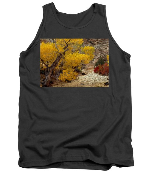 Zion National Park Autumn Tank Top