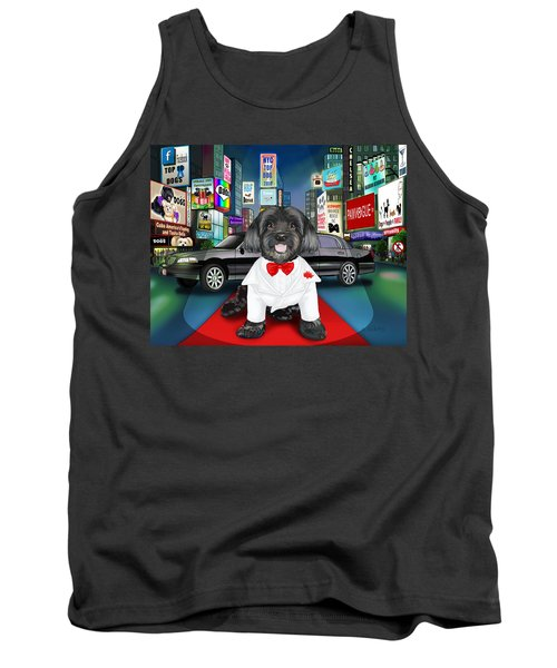 Sir Cuba Of Chelsea In Times Square Nyc Tank Top