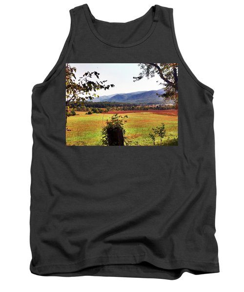 Tank Top featuring the photograph Cades Cove by Janice Spivey
