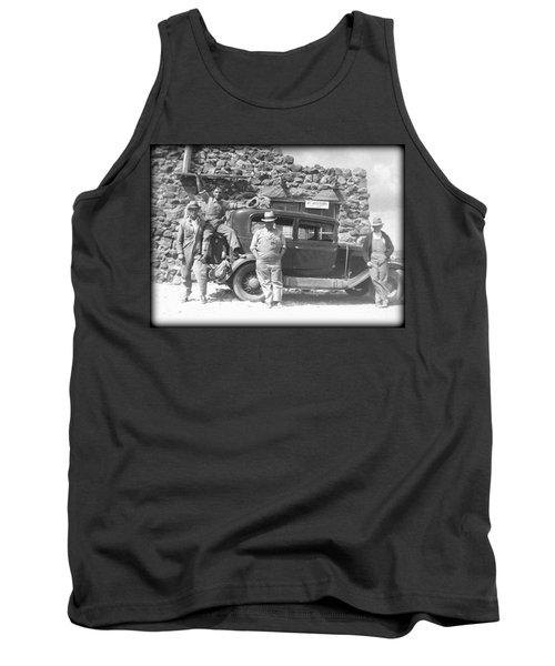 Tank Top featuring the photograph Depression Travlers by Bonfire Photography