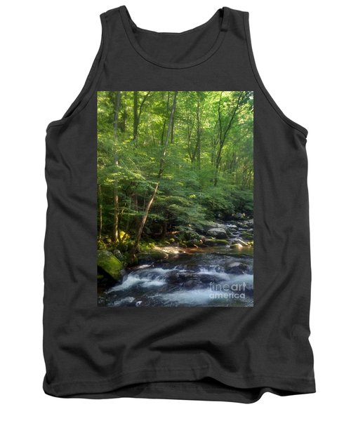 Tank Top featuring the photograph Great Smoky Mountains by Janice Spivey