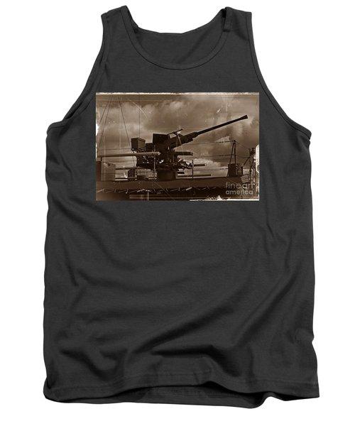 Tank Top featuring the photograph Hmas Castlemaine 5 by Blair Stuart
