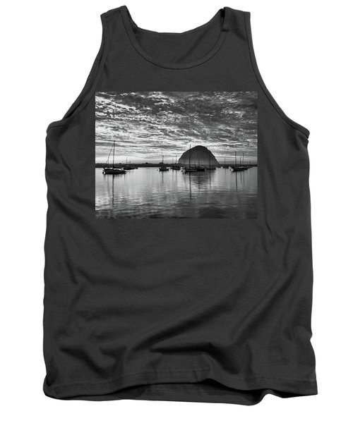 Morro Bay On Fire Tank Top