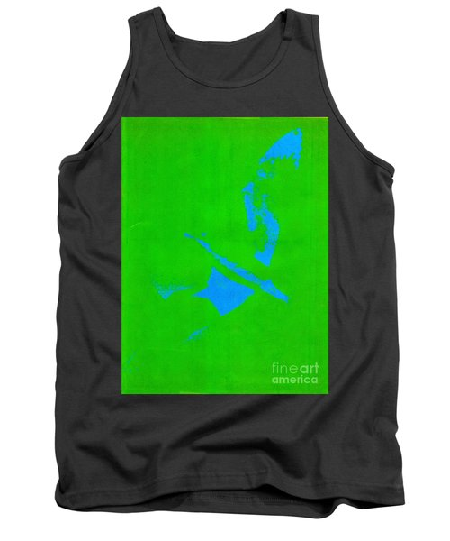 No Limits In Green Tank Top
