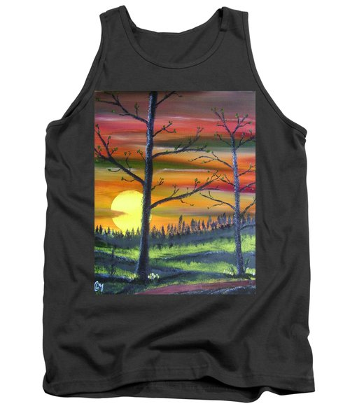 Spring Sunrise Tank Top