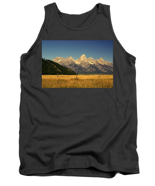 Tank Top featuring the photograph Tetons 3 by Marty Koch