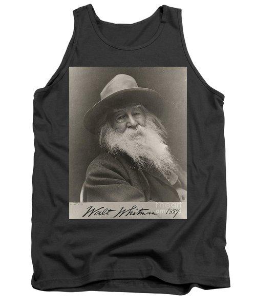 Walt Whitman Tank Top