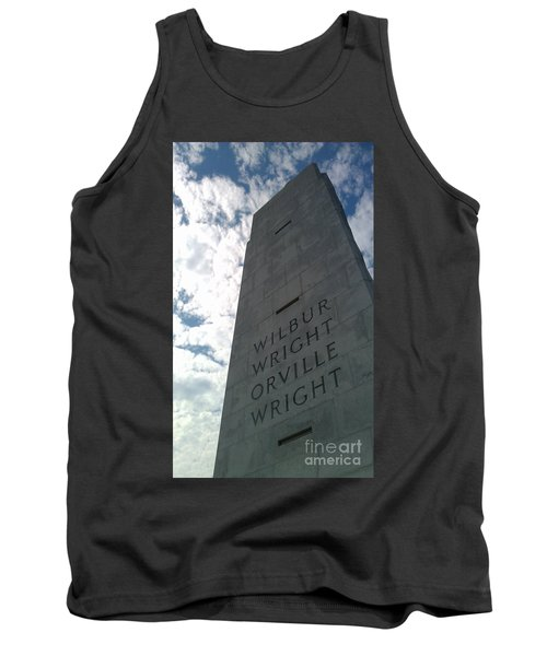 Wright Brothers Memorial Tank Top by Tony Cooper