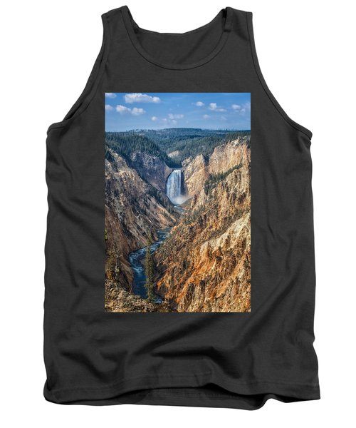 Yellowstone Lower Falls Tank Top