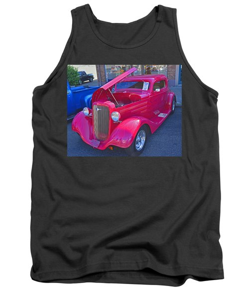 Tank Top featuring the photograph 1934 Chevy Coupe by Tikvah's Hope