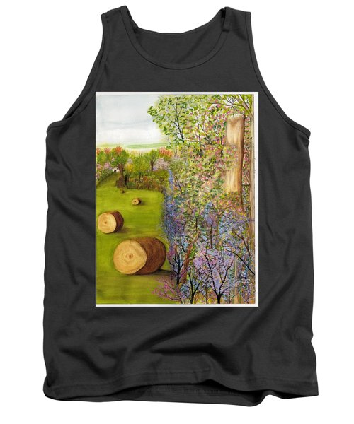 Dogwoods And Redbuds Tank Top
