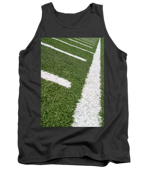 Tank Top featuring the photograph Football Lines by Henrik Lehnerer