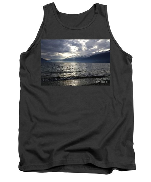 Sunlight Over A Lake Tank Top