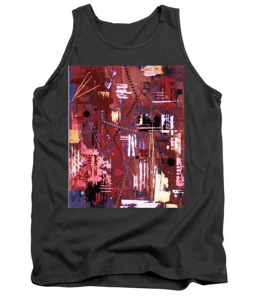 Broken Hockey Sticks Make Terrific Tomato Stakes Tank Top