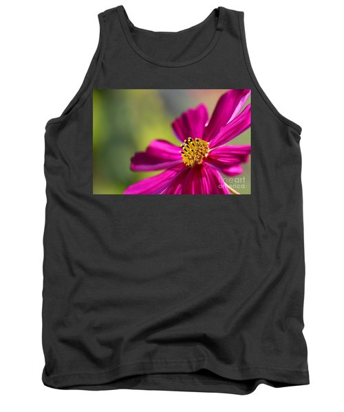 Tank Top featuring the photograph Yellow Dots by Henrik Lehnerer