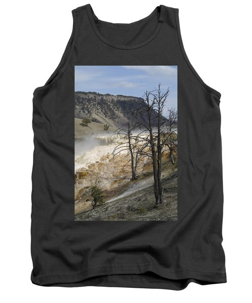 Yellowstone Nat'l Park Tank Top by Henri Irizarri