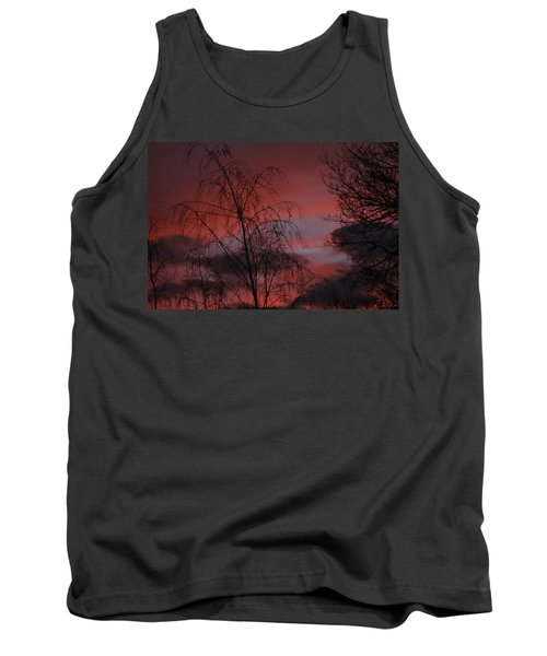 Tank Top featuring the photograph 2011 Sunset 1 by Paul SEQUENCE Ferguson             sequence dot net