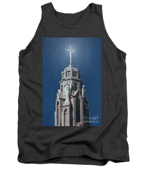 A Church Tower Tank Top