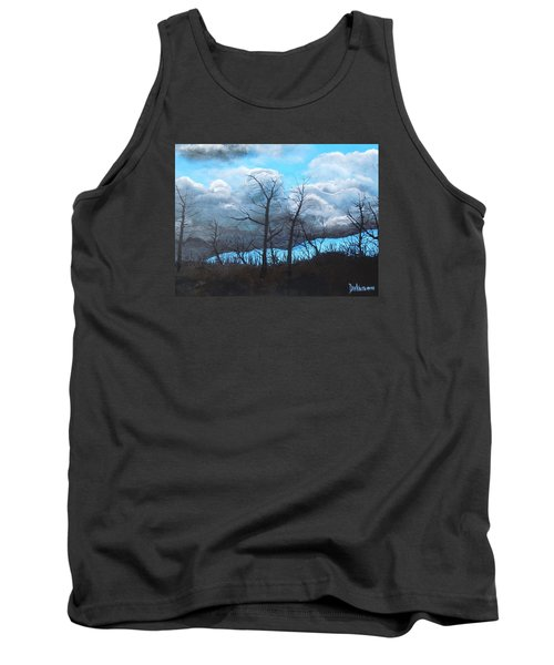 A Cloudy Day Tank Top by Dan Whittemore
