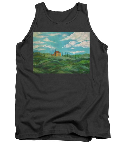 A Day In Tuscany Tank Top by John Keaton