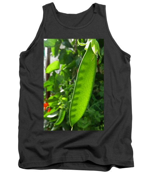 Tank Top featuring the photograph A Green Womb by Steve Taylor