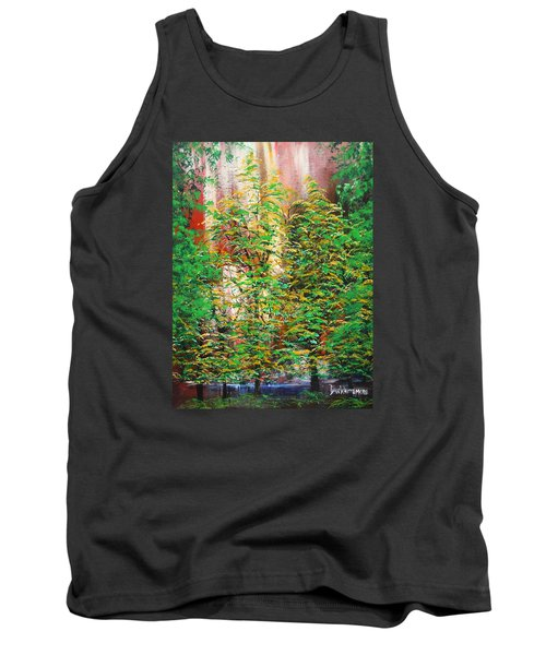 A Peaceful Place Tank Top by Dan Whittemore