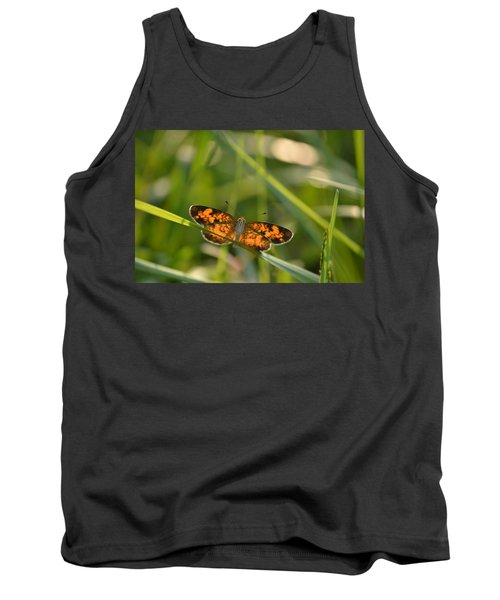 Tank Top featuring the photograph A Pearl In The Grass by JD Grimes
