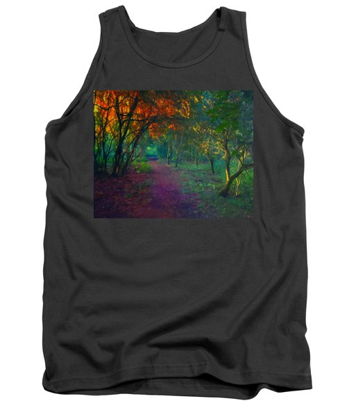 Tank Top featuring the painting A Place Of Mystery by Joe Misrasi
